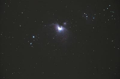 Der Große Orionnebel (M42/M43).