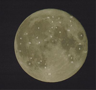 Mondkarte